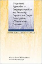 Usage-Based Approaches to Language Acquisition and Processing