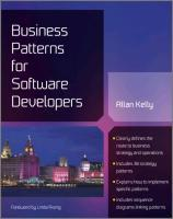 Business Patterns for Software Developers