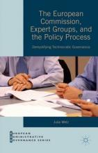 The European Commission, Expert Groups and the Policy Process 2015