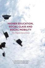 Higher Education, Social Class and Social Mobility 2016