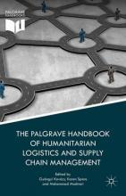 The Palgrave Handbook of Humanitarian Logistics and Supply Chain Management