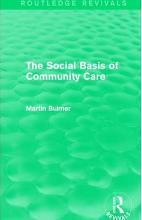The Social Basis of Community Care