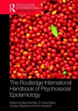 The Routledge International Handbook of Psychosocial Epidemiology