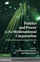 Politics and Power in the Multinational Corporation