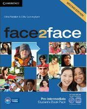 Face2face Pre-intermediate Student's Book with DVD-ROM and Online Workbook Pack