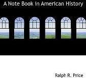 A Note Book in American History