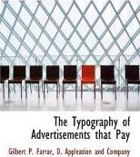 The Typography of Advertisements That Pay