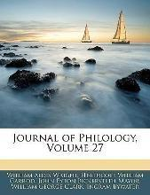 Journal of Philology, Volume 27