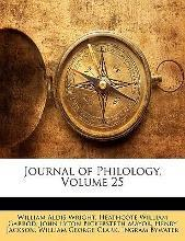 Journal of Philology, Volume 25