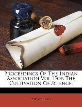 Proceedings of the Indian Association Vol I