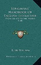 Longmans' Handbook of English Literature