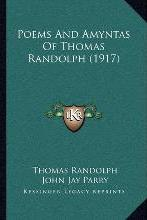 Poems and Amyntas of Thomas Randolph (1917)