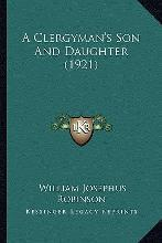 A Clergyman's Son and Daughter (1921)