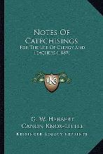 Notes of Catechisings