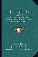 Reports of Cases Part 1