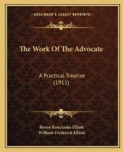 The Work of the Advocate