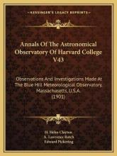 Annals of the Astronomical Observatory of Harvard College V43