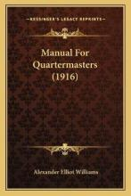 Manual for Quartermasters (1916)