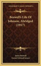 Boswell's Life of Johnson, Abridged (1917)