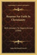 Reasons for Faith in Christianity
