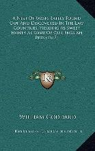 A Nest of Wasps Lately Found Out and Discovered in the Law Countries, Yielding as Sweet Honey as Some of Our English Bees (1615)