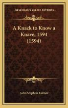 A Knack to Know a Knave, 1594 (1594)