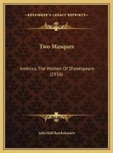 Two Masques