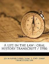 A Life in the Law