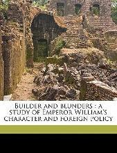Builder and Blunders