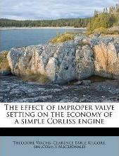 The Effect of Improper Valve Setting on the Economy of a Simple Corliss Engine