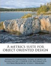A Metrics Suite for Object Oriented Design