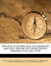 Natural Disasters and Vulnerability Analysis