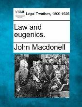 Law and Eugenics.