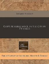 God's Terrible Voice in the City by T.V. (1667)