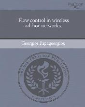 Flow Control in Wireless Ad-Hoc Networks.