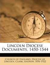 Lincoln Diocese Documents, 1450-1544