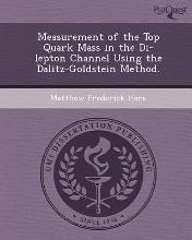 Measurement of the Top Quark Mass in the Di-Lepton Channel Using the Dalitz-Goldstein Method