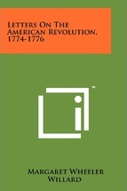 Letters on the American Revolution, 1774-1776