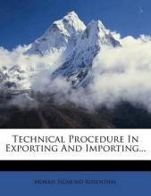 Technical Procedure in Exporting and Importing...