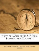 First Principles of Algebra