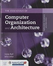 Essentials Of Computer Organization And Architecture