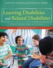 Learning Disabilities and Related Disabilities