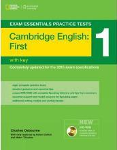 Exam Essentials: Cambridge First Practice Tests 1 w/key + DVD-ROM