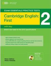 Exam Essentials: Cambridge First Practice Tests 2 w/key + DVD-ROM