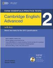 Exam Essentials: Cambridge Advanced Practice Tests 2 w/key + DVD-ROM