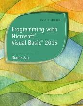 Programming with Microsoft (R) Visual Basic (R) 2015