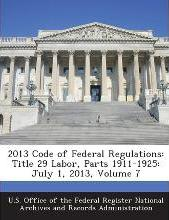 2013 Code of Federal Regulations