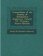 Transactions of the Society of Automotive Engineers, Volume 14