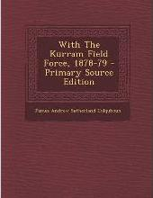 With the Kurram Field Force, 1878-79