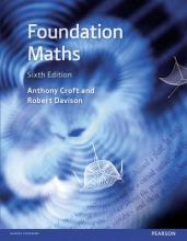 Foundation Maths 6e with MyMathLab Global